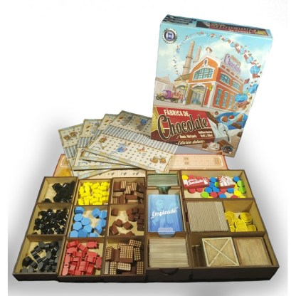 ugi games toys without mess inserto madera juego fabrica chocolate accesorio