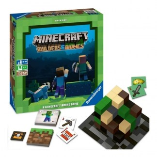 ugi games toys ravensburger minecraft builders biomes juego mesa español