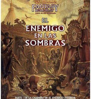 ugi games toys devir workshop warhammer fantasy juego rol español libro el enemigo en las sombras