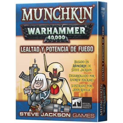 ugi games toys steve jackson munchkin warhammer 40k expansion lealtad potencia fuego