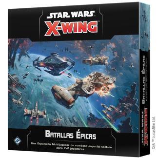 ugi games toys fantasy flight star wars x wing juego miniaturas español expansion batallas epicas
