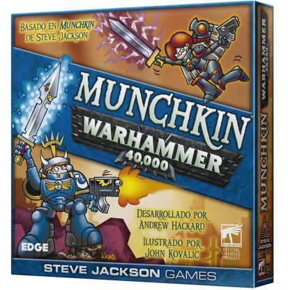 ugi games toys edge steve jackson munchkin warhammer 40000 40k juego cartas español