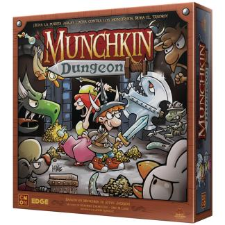 ugi games toys edge steve jackson munchkin dungeon juego miniaturas español