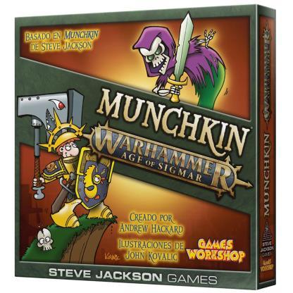 ugi games toys edge steve jackson munchkin warhammer age sigmar juego cartas español