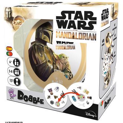 ugi games toys zygomatic dobble star wars mandalorian juego mesa fiesta cartas español