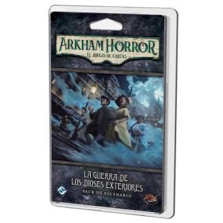 ugi games toys fantasy flight arkham horror lcg juego cartas español pack escenario guerra dioses exteriores