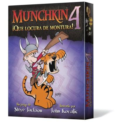 ugi games toys edge entertainment munchkin 4 locura montura juego mesa cartas fiesta español
