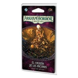 ugi games toys fantasy flight arkham horror lcg cartas español pack mitos corazon ancianos era olvidada