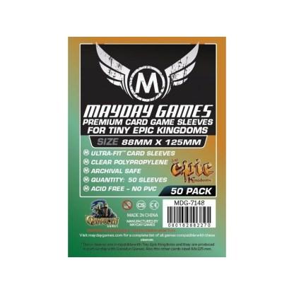 ugi games toys mayday premium yucatan narrow card sleeves 54 80 7148 fundas cartas