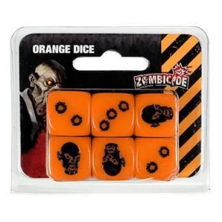 ugi games toys cmon limited zombicide black plague orange dice pack accesorio juego mesa español