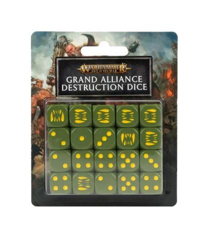 ugi games toys workhsop warhammer age sigmar set dados grand alliance juego