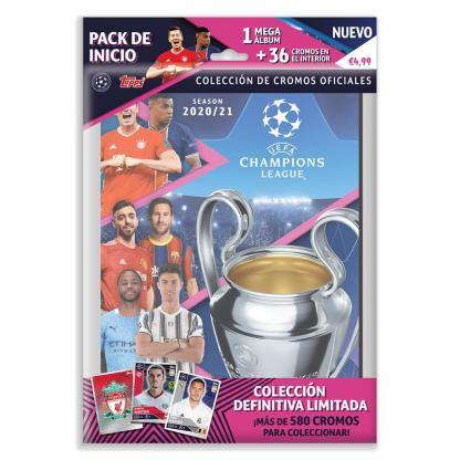 ugi games toys topps ucl uefa champions league cromos futbol español pack inicio album pegatinas