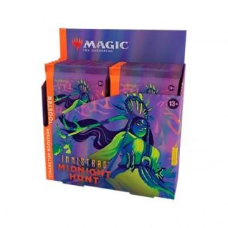 ugi games toys wizards coast mtg magic english card innistrad midnight hunt collector booster display