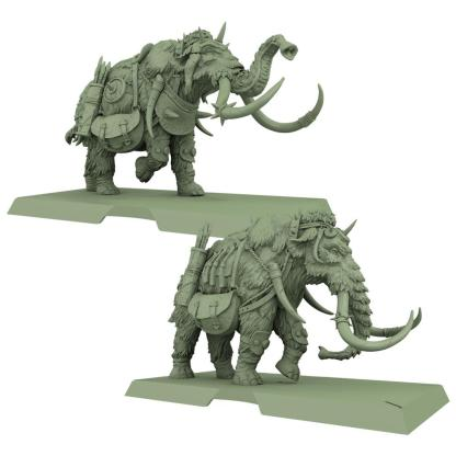 ugi games toys cmon limited cancion hielo fuego song fire ice miniatures war mammoths mamuts guerra
