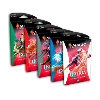 ugi games toys wizards coast mtg magic english card game ikoria behemoths theme boosters