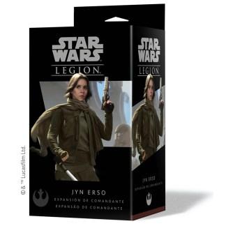 ugi games toys fantasy flight star wars legion juego miniaturas español comandante jyn erso