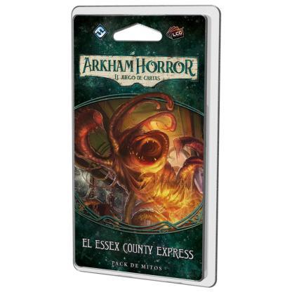ugi games toys fantasy flight arkham horror lcg juego cartas español pack mitos legado dunwich essex county express