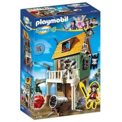 ugi games toys playmobil fuerte pirata camuflado ruby 4796