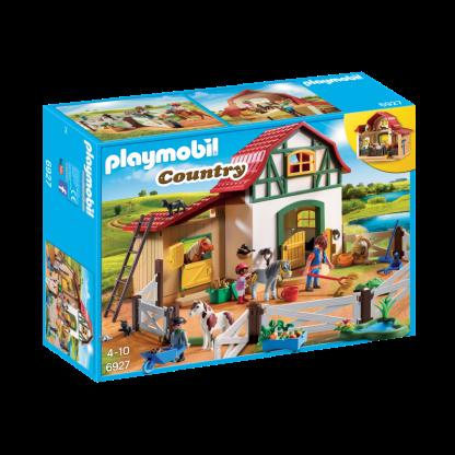 ugi games toys playmobil country granja ponis 6927
