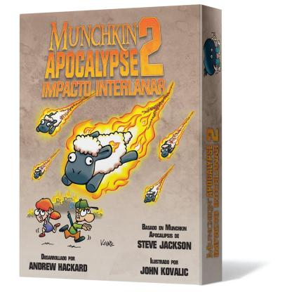 ugi games toys edge entertainment munchkin apocalypse 2 impacto interlanar juego mesa cartas fiesta español