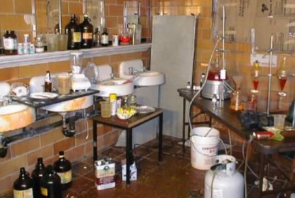 underground steroids lab
