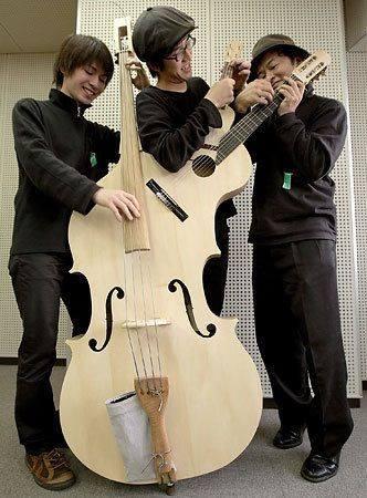 Bass - Uke - Guitar