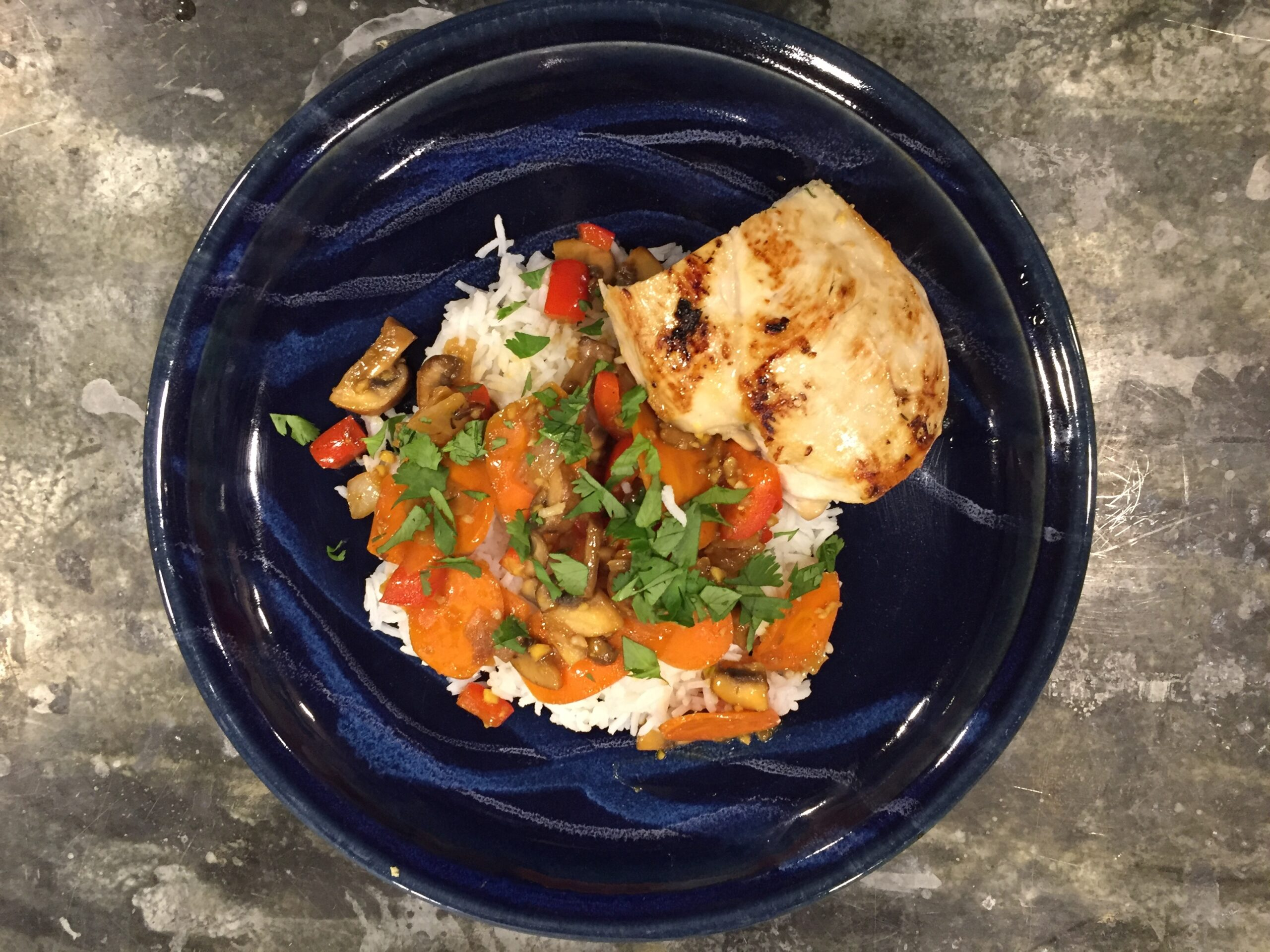 Easy pan-roasted chicken breast