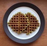 Two fawaffle on a plate