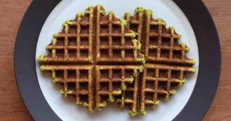Fawaffle (a Falafel Waffle)