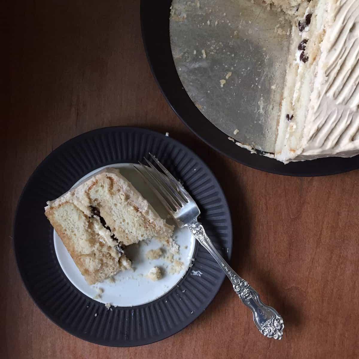 Birthday Cake Tiramisu without Raw Egg