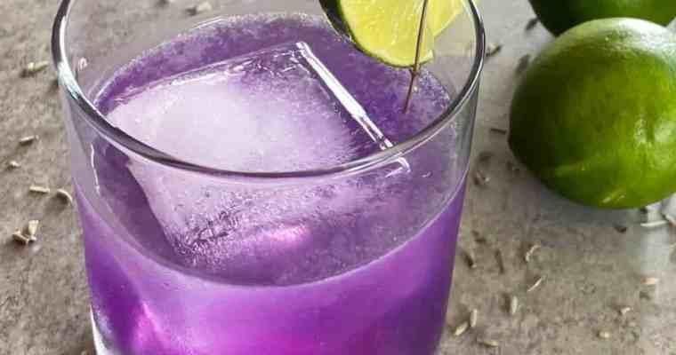 The Lavender Gimlet