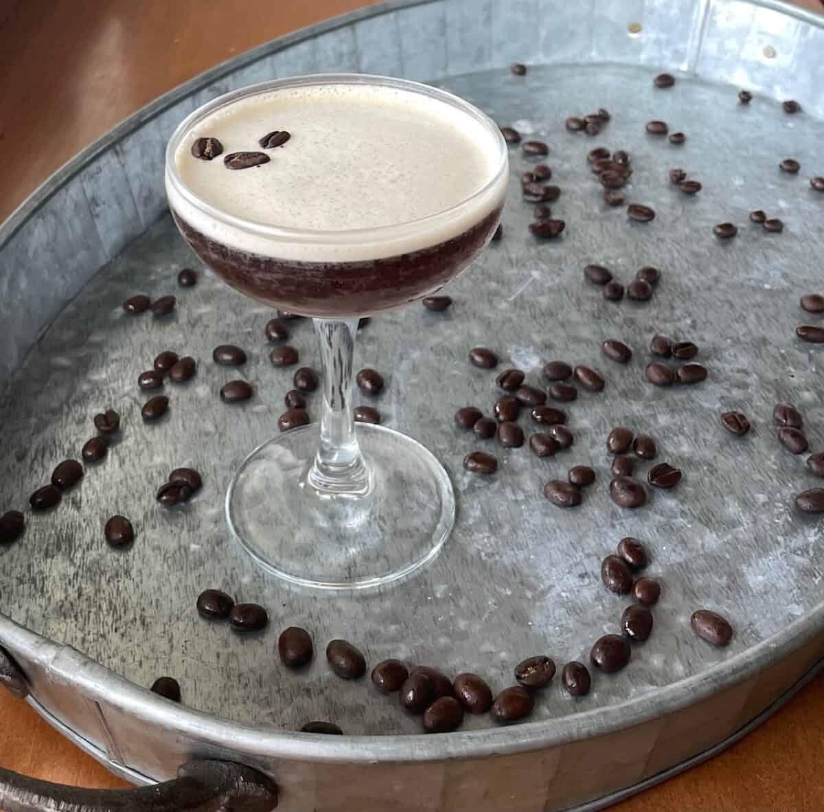 A Gin Espresso Martini Recipe
