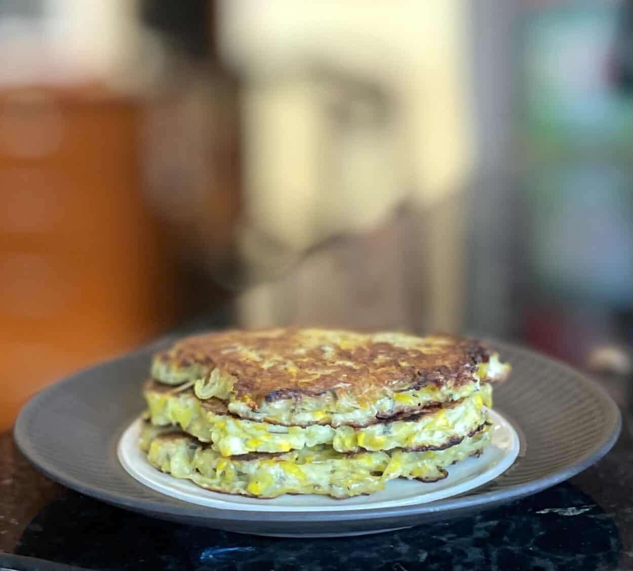Fried Patty Pan Squash Patties