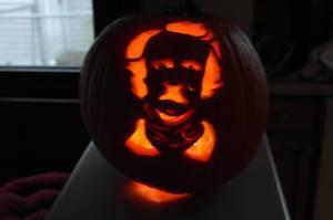 Edgar Allan Pumpkin? Edgar Allan Poe-lantern?