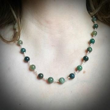 Reclaimed Rosary Beads