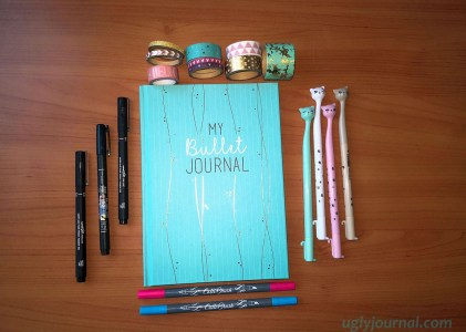 BASIC BULLET JOURNAL SUPPLIES – ON A BUDGET