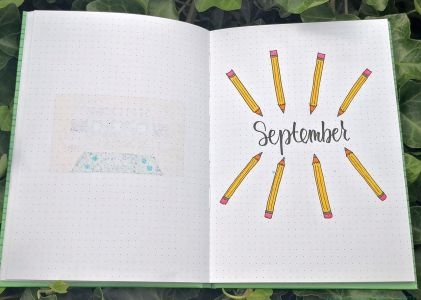 EASY SEPTEMBER BULLET JOURNAL THEMES