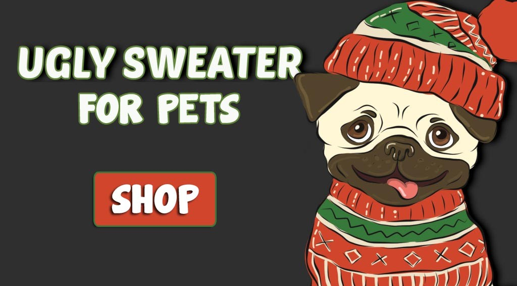 ugly sweater pet