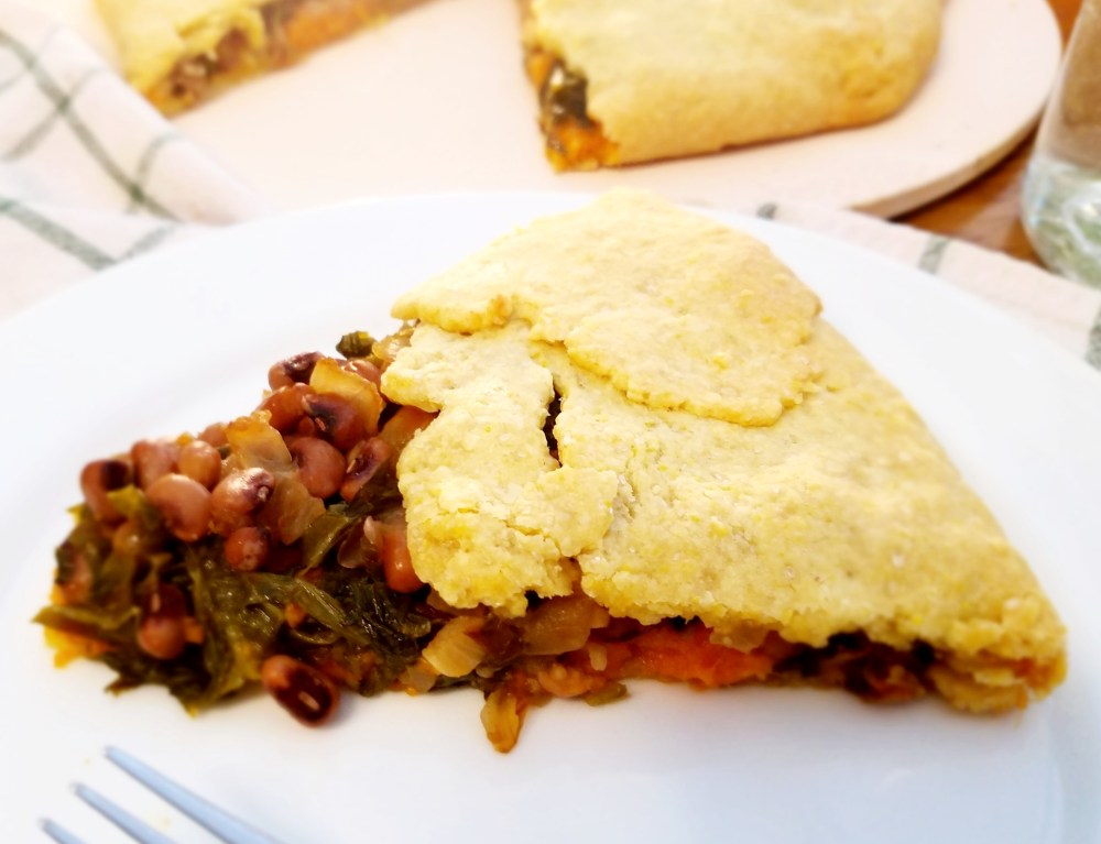 Vegan Cornmeal Galette Recipe
