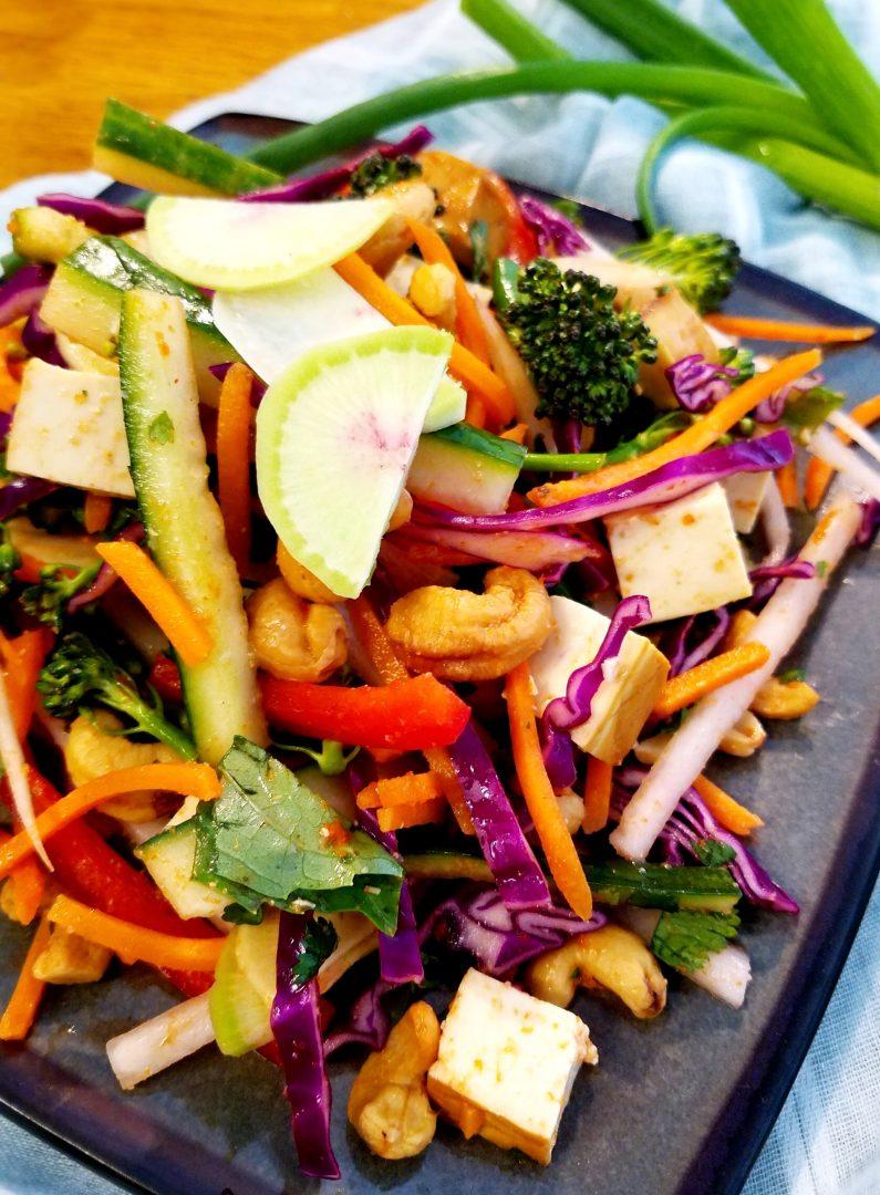 Vegan Thai Crunch Salad Recipe