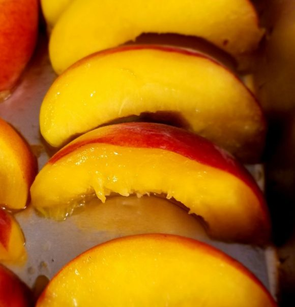 How to Make Grilled Peach Salad