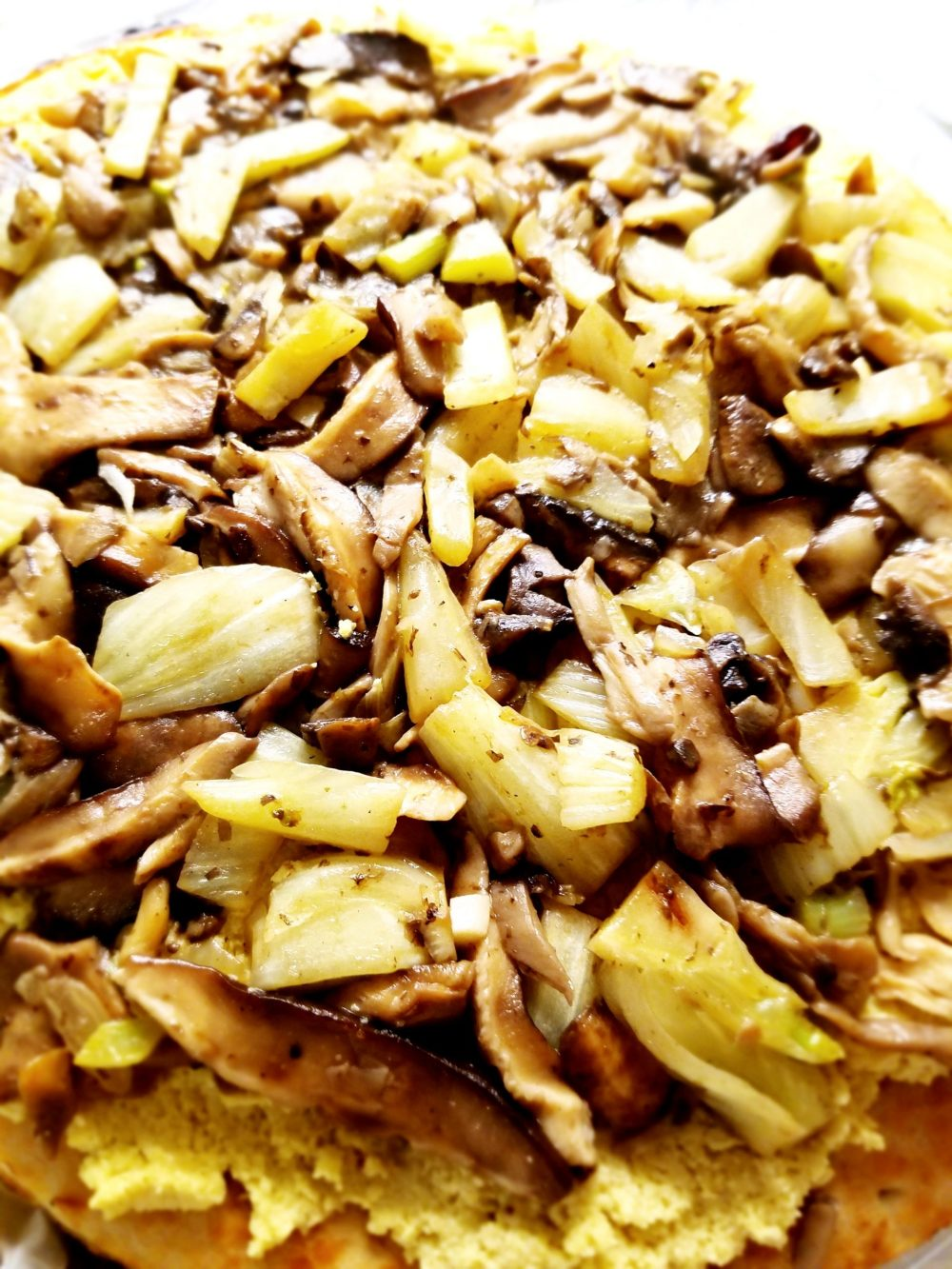 Mushroom Vegan Pizza Recipe