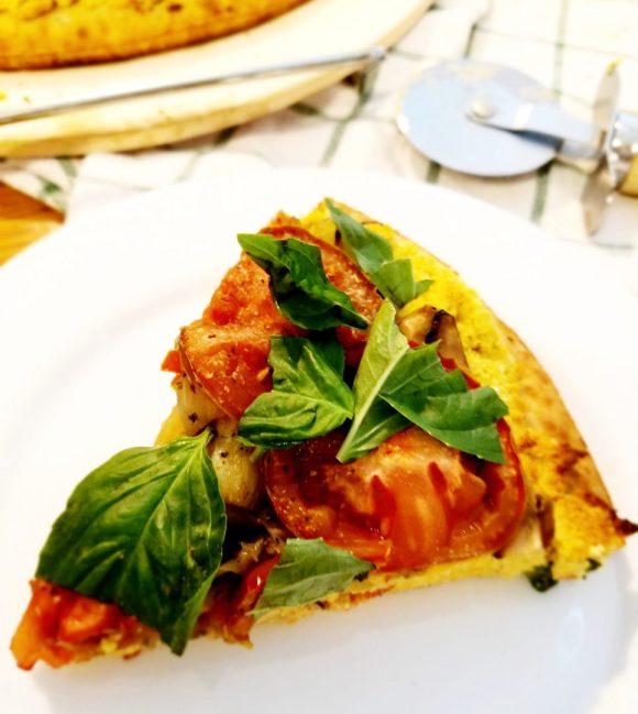Healthy Vegan Mushroom Pizza Recipe