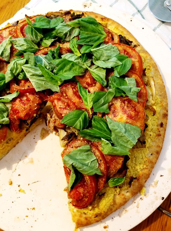 Vegan Truffle Oil Pizza Recipe