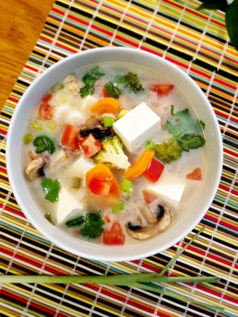 Tofu coconut milk soup recipe