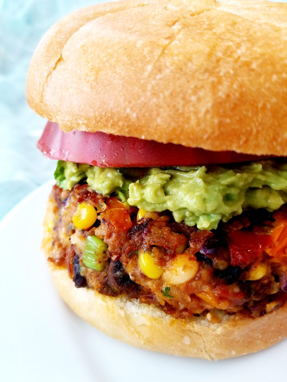 Vegan Black Bean Chipotle Burger Recipe