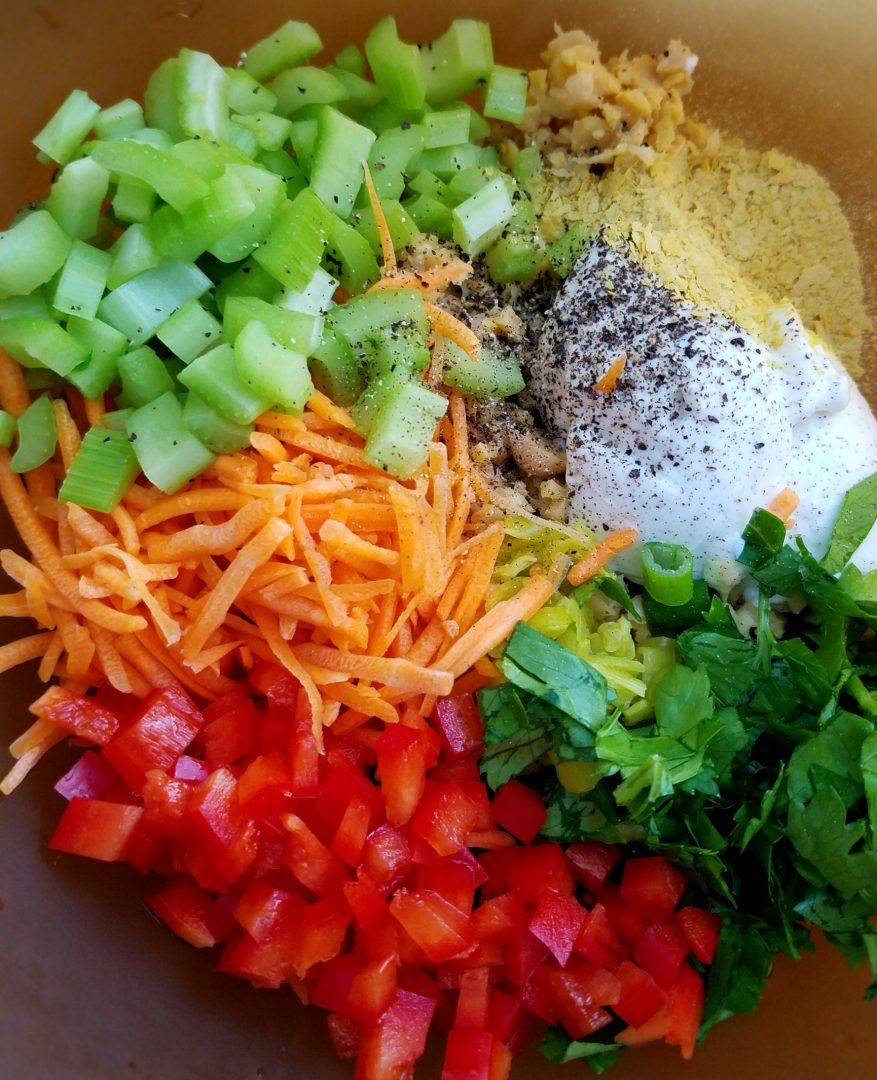 Chickpea Salad Vegan Mayo