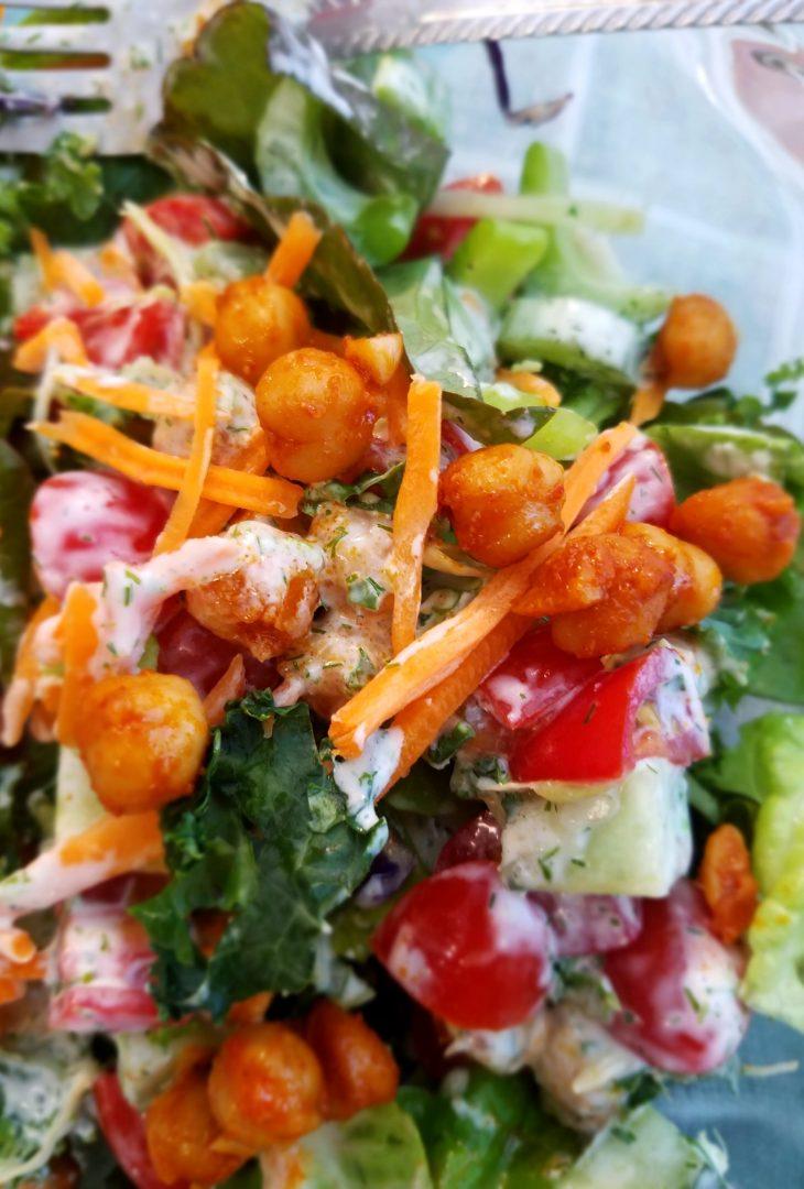 Vegan Salad Ideas with Chickpeas