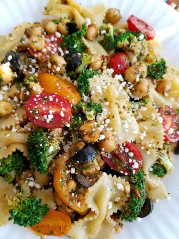 Broccoli Bow Tie Pasta Salad Recipe