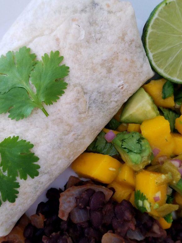 Easy Vegetarian Black Bean Burrito Recipe